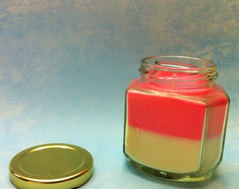 6 oz Oval Glass Soy Candle