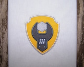 Champ Badge Applique Machine Embroidery Design Pattern-INSTANT DOWNLOAD
