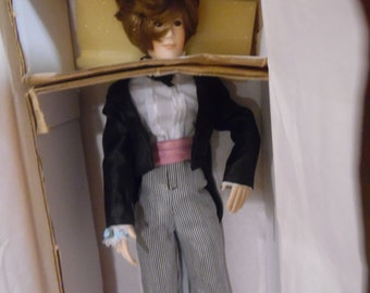 Paradise Collections Groom Doll