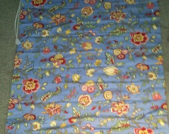 Set of Home made Floral  Window Shades Blinds Curtains Window Treatment