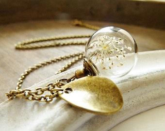 "Necklace ""Little Dillflower"" Bronze"