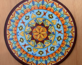 """8"""" Mandala Wall Art - """"Diane"""""""