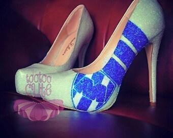 """Glitter """"Monterrey"""" Heel"""