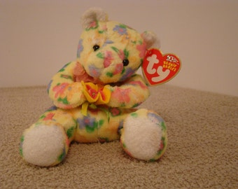 TY Beanie Baby Bloom 2002 the Bear