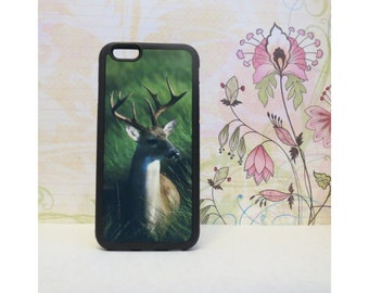 White Tailed Buck #1 - Rubber iPhone Case