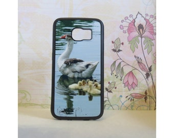 Ducks and Ducklings - Rubber Samsung Galaxy S3 S4 S5 S6 Case