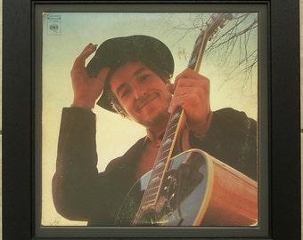 Framed Record Of Bob Dylan Nashville Skyline