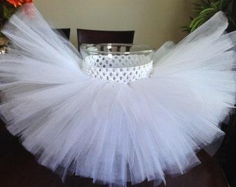 White tutu, ghost tutu, snow tutu, wedding tutu, flower girl tutu, birthday tutu, baby tutu, newborn tutu, toddler tutu, girl tutu, photo