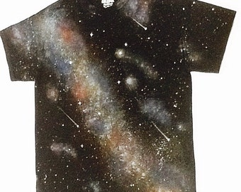 Glow In The Dark Galaxy Starscapes Tshirt
