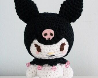 Kuromi Amigurumi Doll