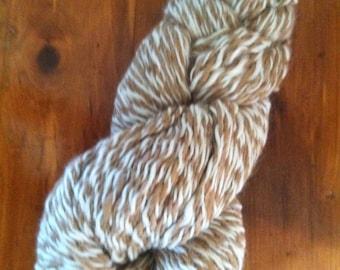 Handspun alpaca yarn - 396 yds