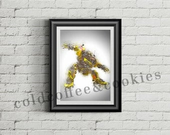 Transformers, Ratchet, Digital illustration - Instant Download Digital File