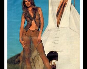 "Mature Celebrity Nude : Kimberley Conrad Hefner Single Page Photo Wall Art Decor 8.5"" x 11"""