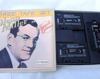 Glenn Miller 3-TAPE set rare tapes glenn miller miller tapes miller music vtg glenn miller vtg tapes vtg cassettes glenn miller C01/080