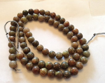 8mm autumn Jasper beads