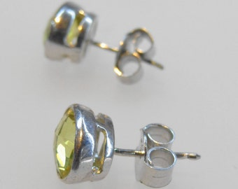 Beautiful Lemon Topaz Earring Sterling Silver 925 Handmade Awesome Stylish Fantastic Marvelous Classic Modern F10