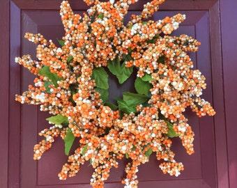 Fall Berry Wreath