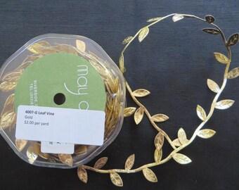 Gold Leaf Vine Trim 4007G