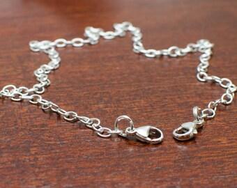 Argentium Silver Chain - Individual