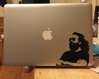 Jerry Garcia vinyl sticker