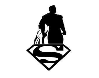Superman, Superman decal, sticker, skin for Apple Computer MacBook Pro, MacBook Air, MacBook, Gift, Geekery, For Him, For Her