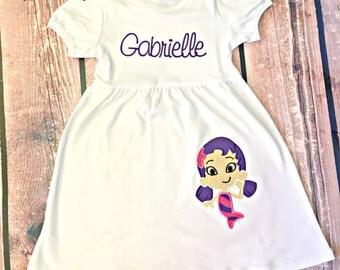 Bubble Guppies Baby Girl Oona Birthday Dress
