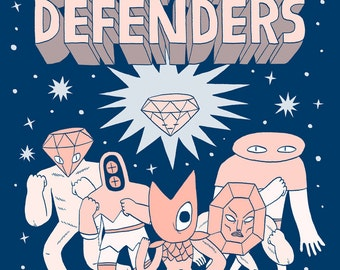 Diamond Defenders Comic
