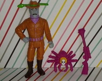 Vintage 1989 Kenner Beetlejuice Figure - Harry the Haunted Hunter (Complete)