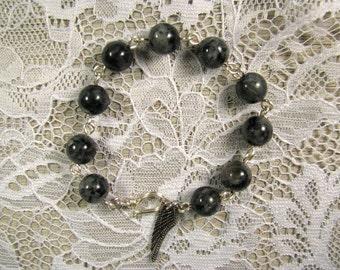 Spiritual Gemstone Bracelet-Labradorite