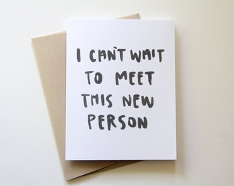 New Person Card
