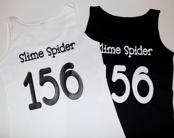 Name & Number Applied to 1 x BYO Scrimmage Top - Roller Derby