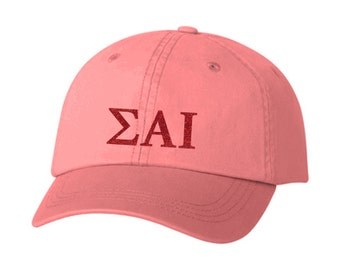 SAI // Sigma Alpha Iota // Choose Your Colors // Sorority Hat