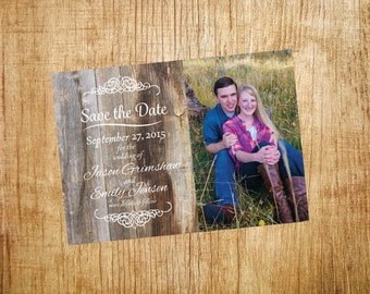 Rustic Style Save-the-Date_Printable