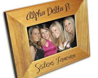 Alpha Delta Pi Picture Frame