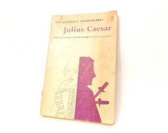 Vintage Copy of Julius Caesar by William Shakespeare