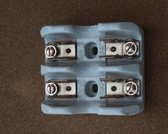 Vintage GE Porcelain Fuse Holder