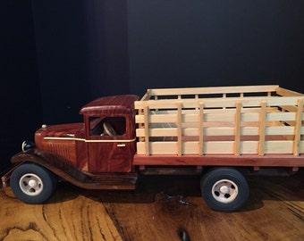 Hand Made Wooden Car