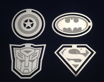 Superhero - Handmade Metal Bookmark - Avengers Captain America / Batman / Transformers / Superman *Presentation Packaging*