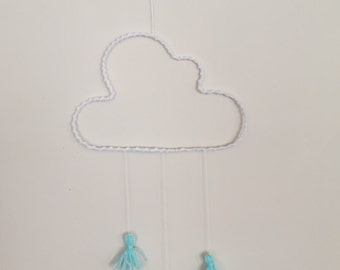 Cloud wall hanging