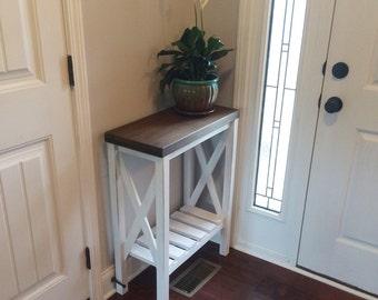 Farmhouse style Entryway Table