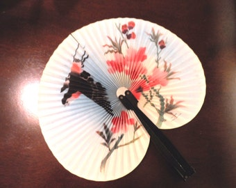 Vintage Hand Fan from People's Republic of China