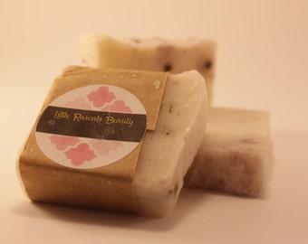 Lavender Chamomile Soap - Handmade, natural, organic bath and beauty, handmade lye soap, bar soap, great for sensitive skin, floral scent