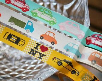 Car Washi Tape Set of 3