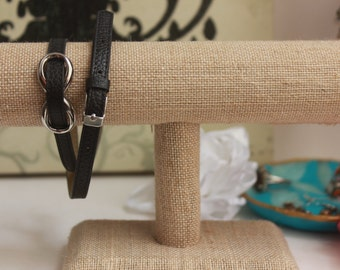 Faux Leather Wrap Bracelets