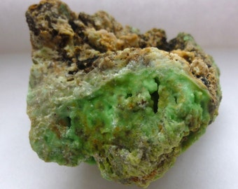 Rare PHOSPHOHEDYPHANE MOTTRAMITE & VANADINITE - Scotland Natural Mineral Specimen