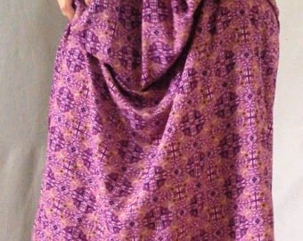 Pink Isness Maxi Skirt