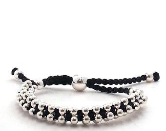 Boho Silver Bracelet
