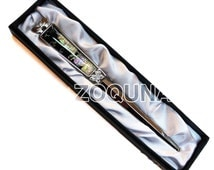 Mother of Pearl Letter Opener Korean Turtle Ship Design Metal Paper Knife Office Sword Blade DS0071 (Free Shipping)