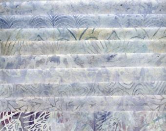 Artisan Batiks - Fat Quarter Assortment PASTEL GRAY