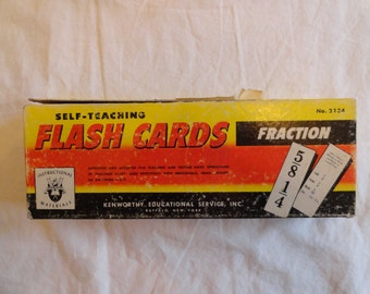 Kentworthy Self-Teaching Flash Cards Fractions